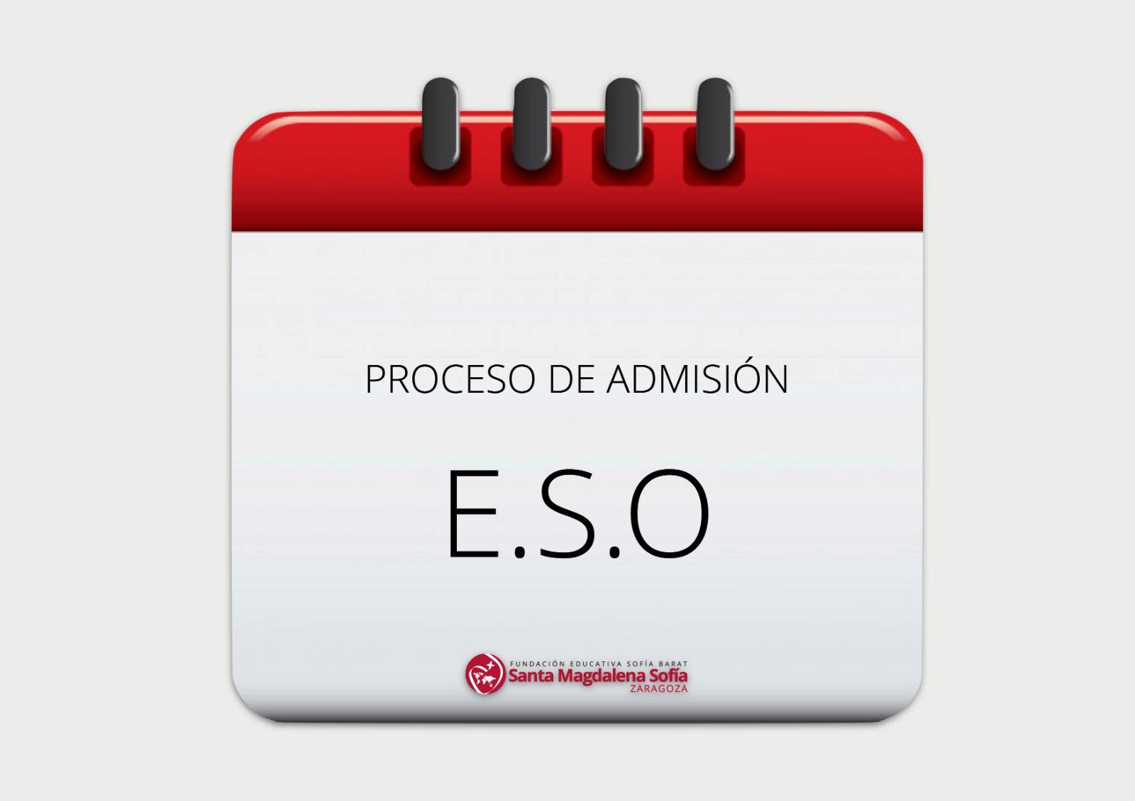 Instrucciones de admisión para E.S.O.