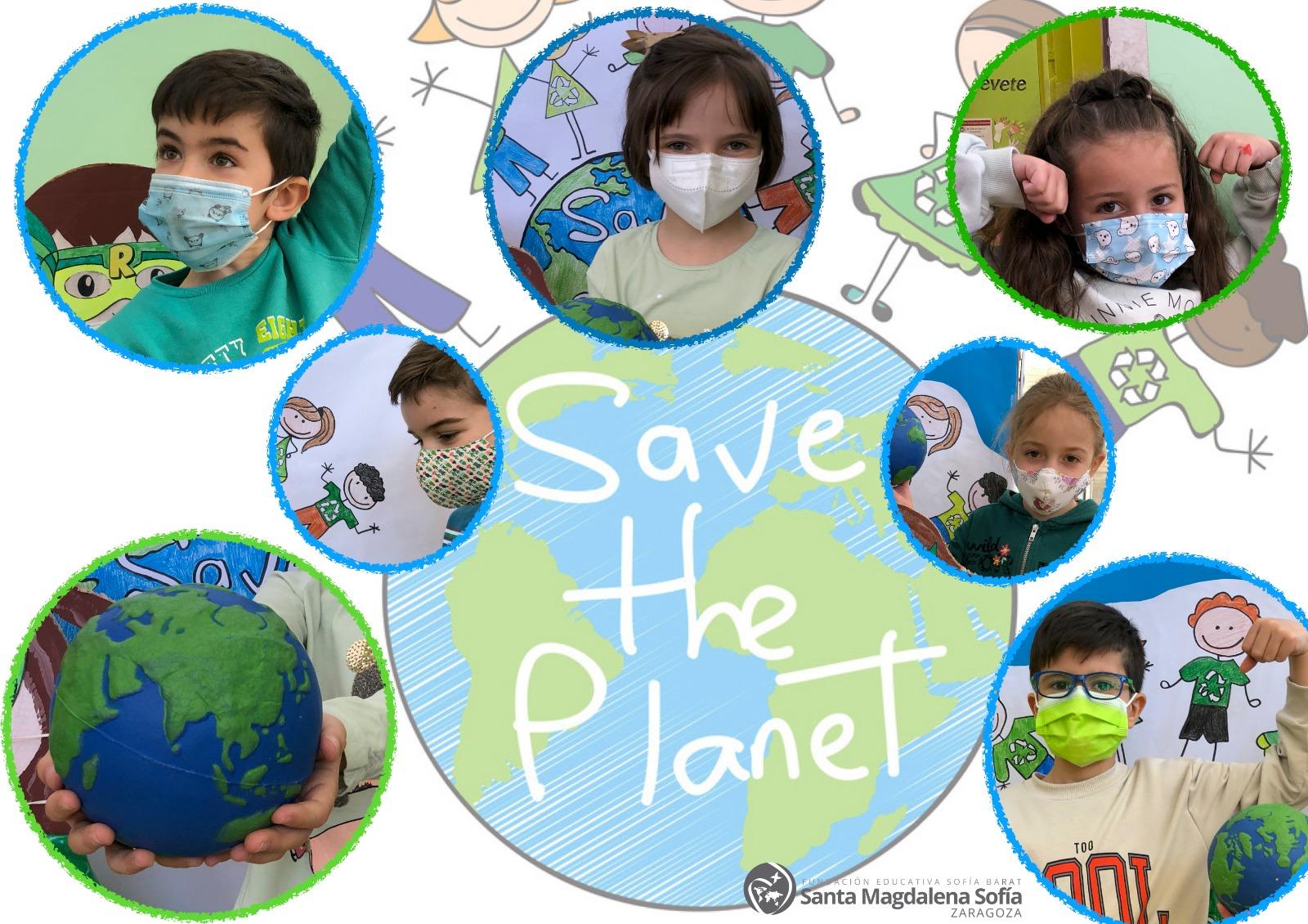 Save the planet 1º y 2ºEP