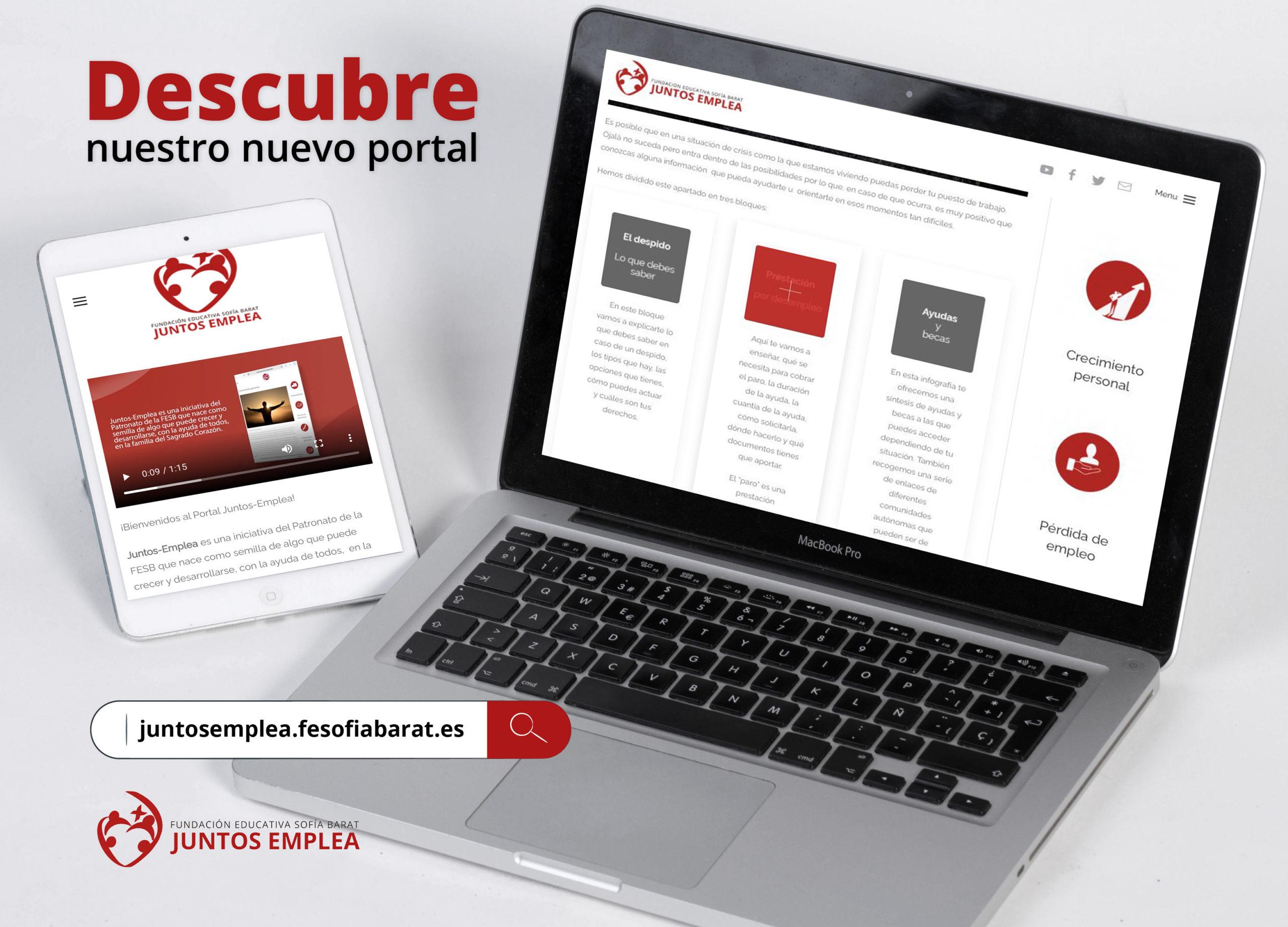 Nuevo portal: Juntos Emplea